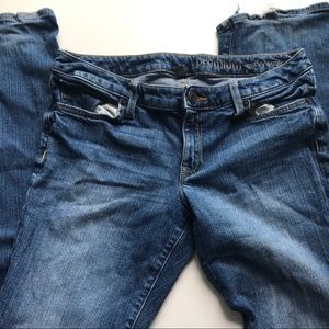 Gap Premium Curvy Straight size 8 jeans